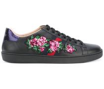 'Ace' Sneakers mit floraler Stickerei - women