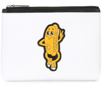 Clutch mit Hotdog-Patch - men - Polyester