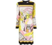 'Battistero' Kleid mit Print