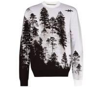 Pullover mit Baumlandschaft
