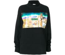 Sweatshirt mit Airbrush-Print