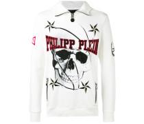 skull sweatshirt - men - Baumwolle - XL