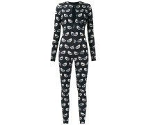 printed jumpsuit - women - Polyamid/Elastan - G