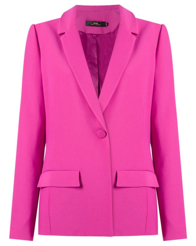 panelled blazer - women - Acetat/Viskose - 38