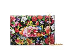 Mini-Tasche mit Blumen-Print