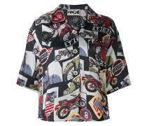 Hemd mit MotorradPrint