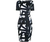 'Celine' Kleid mit U-Boot-Ausschnitt