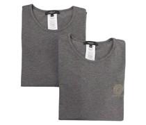2er-Set T-Shirts mit Medusa