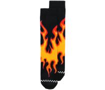 flame socks