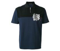 emperor print polo shirt