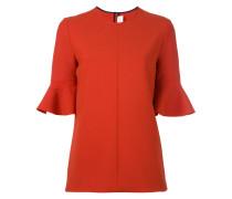 trumpet sleeve blouse - women
