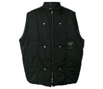 back photo print vest