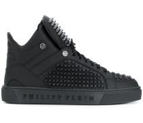 High-Top-Sneakers mit Nieten