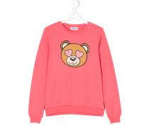 Sweatshirt mit Bär-Print
