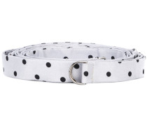 polka dot belt - women - Seide - S