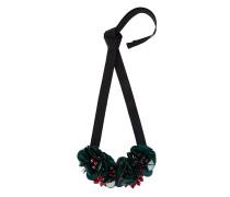 Halsband mit Blütendetails