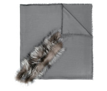 Touch of fur shawl