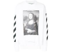 Mona Lisa print sweatshirt