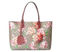 Wendbare Handtasche mit Blütenmuster