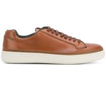 perforated toe sneakers