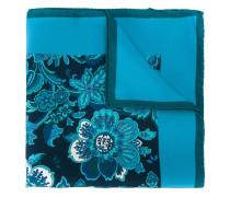 Seideneinstecktuch mit Blumen-Print
