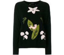 Pullover mit botanischer Musterung - Unavailable