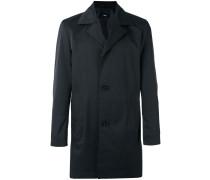 Einreihiger Mantel - men - Baumwolle/Polyester