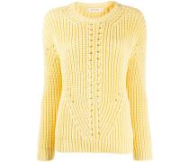 'Le Soir' Pullover in Grobstrick