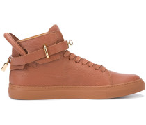 - High-Top-Sneakers mit Schnalle - men - Leder