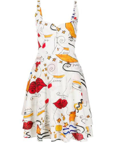 'Miami Mi Amor' A-Linien-Kleid