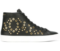 High-Top-Sneakers mit Ösen - women