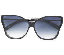 Tripale butterfly frame sunglasses