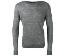 'Merlin' Pullover - men - Leinen/Flachs - 50