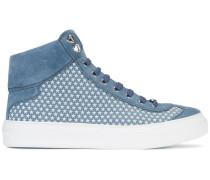 High-Top-Sneakers mit Sterne-Print - men