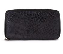 rectangular zip-around wallet - women