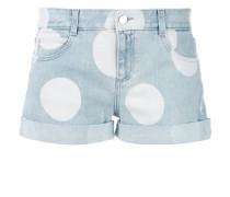 - Jeans-Shorts mit Punkten - women