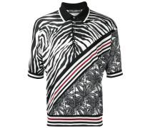 Poloshirt mit ZebraPrint