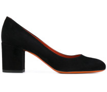 Pumps mit Blockabsatz - women - Leder/Wildleder