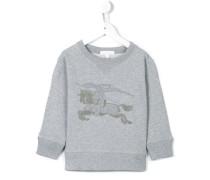 Sweatshirt mit Ritter-Stickerei