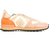 Gestreifte 'Rockrunner' Sneakers
