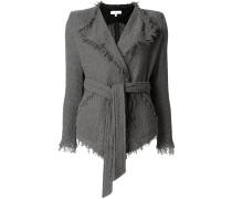 'Schala' Jacke mit ausgefransten Kanten