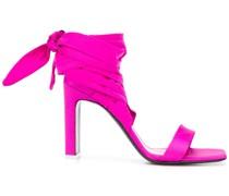 wraparound ankle tie sandals