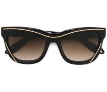 'Wire' Sonnenbrille - women - plastic