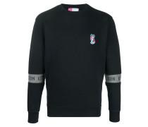 Sweatshirt mit Logo-Ärmeln