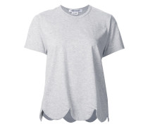 T-Shirt mit gewellter Borte