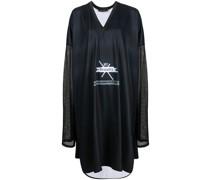 Kleid mit Sheer-Ärmeln