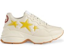Rhyton Sneakers mit Stern-Patch