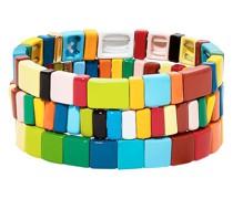 'Rainbow Brite' Armbänder-Set