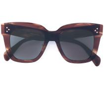 'Kim' Sonnenbrille - women - Acetat - 51