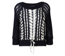 Semi-transparenter Pullover - women